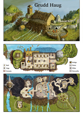 image about Storm King's Thunder Printable Maps called Lee Moyer Storm King Maps Grudd Haug